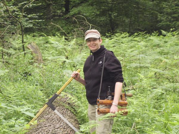 Von der Journalistin zur Försterin - Berufsberatung mit Uta Glaubitz